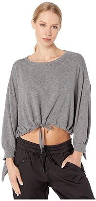 L-Space My Girl Top Cover-Up (Heather Grey) Women's Swimwear