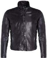 Gipsy RAMOS Leather jacket grafit
