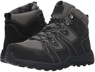 DREW Trek Waterproof Boot (Black Nubuck) Men's Shoes
