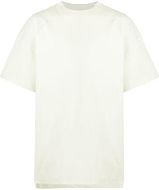 Jacquemus Cueillette cut-collar T-shirt