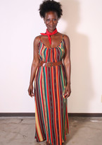 Tysa Long Perfect Dress In Serape
