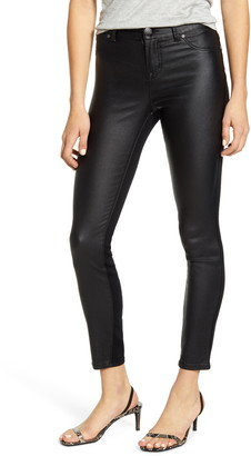 1822 Denim Coated Front Ankle Skinny Jeans