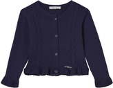 Mayoral Navy Cable Knit Jumper