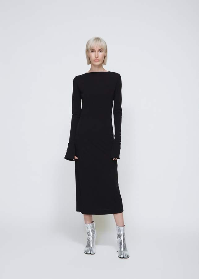 Maison Margiela Long Sleeve Fitted Dress