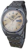 Seiko 5 Stainless Steel Automatic Mens 37mm Watch 1980s