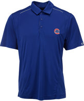 Cutter & Buck Men's Chicago Cubs DryTec Foss Hybrid Polo