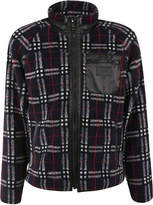 Burberry Check Zipped Sweater