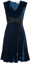 Derek Lam 10 Crosby Short Sleeve Fit-and-Flare Dress