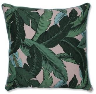 Yardley London Bay Isle Home Swaying Palms Indoor/Outdoor Floor Pillow Bay Isle Home