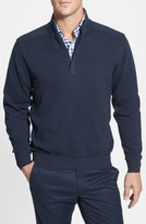 Cutter & Buck Men's Big & Tall Broadview Half Zip Sweater