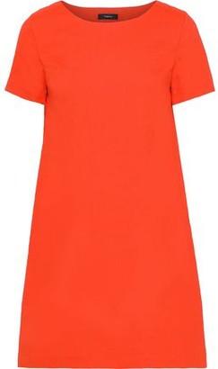 Theory Linen-blend Mini Dress