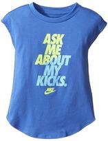 Nike Ask Me About My Kicks Tee Girl's T Shirt