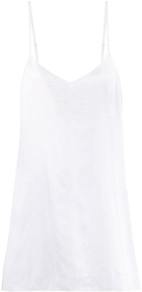Marine Serre Short Slip Dress