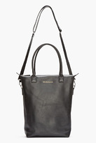 WANT Les Essentiels Black Leather Orly Shopper Tote