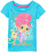 Children's Apparel Network Aqua Shimmer & Tala 'Magical Friends' Tee - Toddler