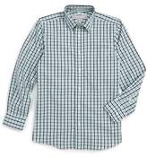 Nordstrom Check Cotton Poplin Dress Shirt (Toddler Boys, Little Boys & Big Boys)
