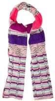 Missoni Pattered Knit Scarf