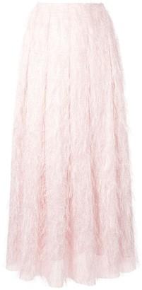 Bambah Flared High-Waisted Skirt