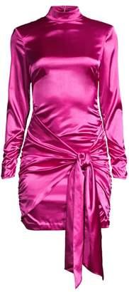 LIKELY Khaleesi Long-Sleeve Tie-Front Dress