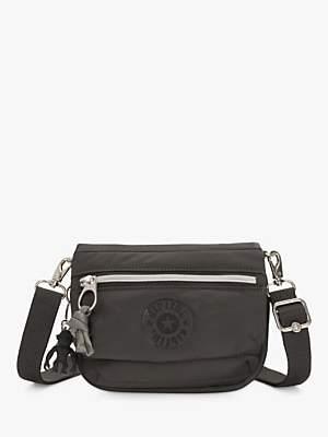 Kipling Tulia Small Convertible Cross Body Bag, Black