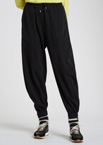 Thumbnail for your product : Paul Smith Women's Black Wool Cuffed Sweatpants