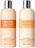 Molton Brown Papyrus Reed Repairing Shampoo & Conditioner 300ml (Bundle)