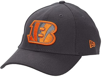 New Era NFL Stretch Fit Graphite 3930 -- Cincinnati Bengals (Graphite) Baseball Caps