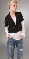 Rag & Bone Cropped Mini Blazer