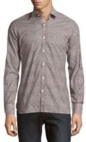 Lanvin Printed Cotton Sportshirt