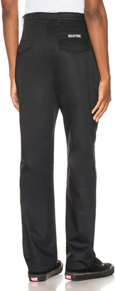 Martine Rose Cargo Pocket Trousers in Black | FWRD