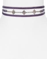 Aqua Juniper Velvet Choker Necklace, 12 - 100% Exclusive
