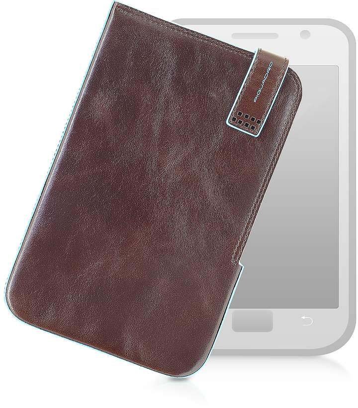 Piquadro Leather Tablet Case