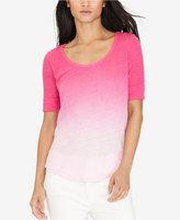 Lauren Ralph Lauren Linen Ombré T-Shirt
