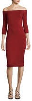 Bailey 44 Off the Shoulder Heavy Jersey Dress