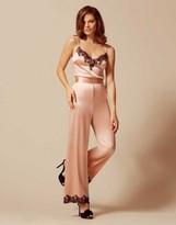 Agent Provocateur Amelea Pyjama Bottom Pink/Black
