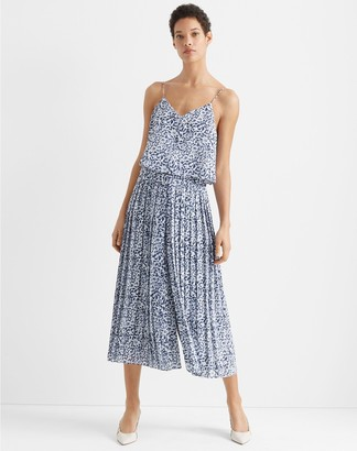 Club Monaco Pleated Jumpsuit