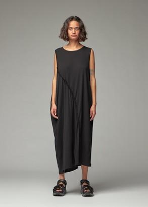 Y's by Yohji Yamamoto Women's Sleeveless Asymmetric Long Dress in Black Size 2