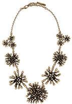 Oscar de la Renta Coral Cluster Collar Necklace