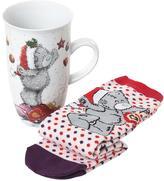 Me To You Christmas Mug & Socks Set