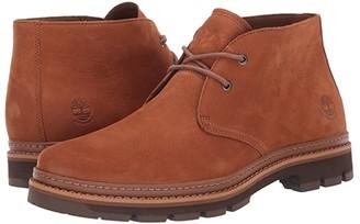 Timberland Port Union Waterproof Chukka (Rust Nubuck) Men's Boots