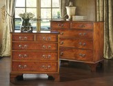 The Well Appointed House Modern History Mahogany Five Drawer Chest-Available in Two Sizes