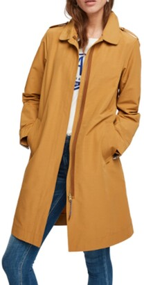 Scotch & Soda Zipped Trench Coat