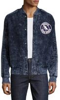 PRPS Cotton Fading Bomber Jacket