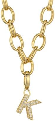 Roberto Coin Princess Charms 18K Yellow Gold & Diamond Initial Charm