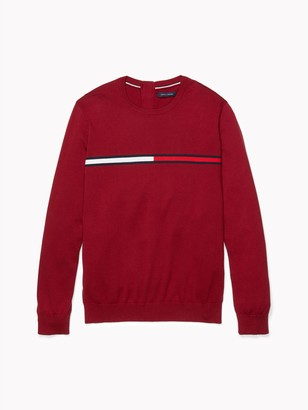 Tommy Hilfiger Seated Fit Flag Crewneck Sweater