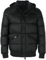 Armani Jeans hooded padded jacket