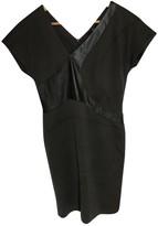 BOSS Khaki Cotton Dress for Women