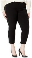Karen Kane Plus Plus Size Saddle Stitch Piper Pants (Black) Women's Casual Pants