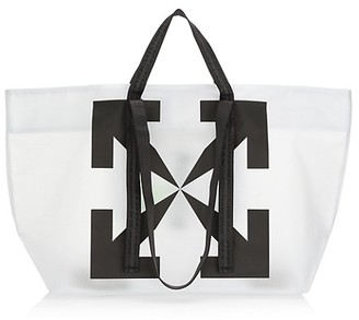 Off-White Commercial PVC Tote