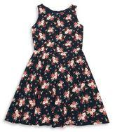 Un Deux Trois Girl's Sleeveless Flirt Dress